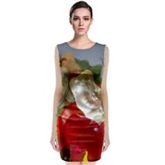 Gummi Bears Sleeveless Velvet Midi Dress