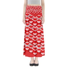 Hearts On Tile Maxi Skirts
