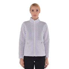 Bright White Stitched and Quilted Pattern Winterwear