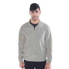 Rich Cream Stitched and Quilted Pattern Wind Breaker (Men)