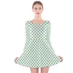 46293021 Long Sleeve Velvet Skater Dress
