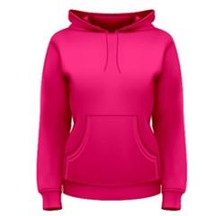 Super Bright Fluorescent Pink Neon Women s Pullover Hoodie