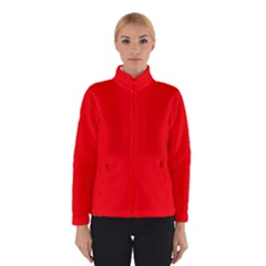 Bright Fluorescent Fire Ball Red Neon Winterwear