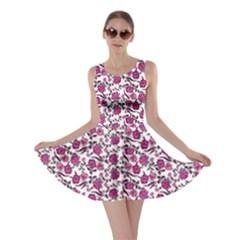 Roses pattern Skater Dress
