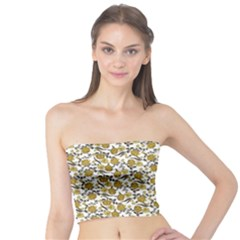 Roses pattern Tube Top