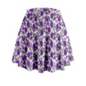 Roses pattern Mini Flare Skirt View2