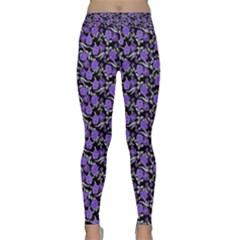 Roses pattern Classic Yoga Leggings