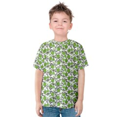 Roses pattern Kids  Cotton Tee