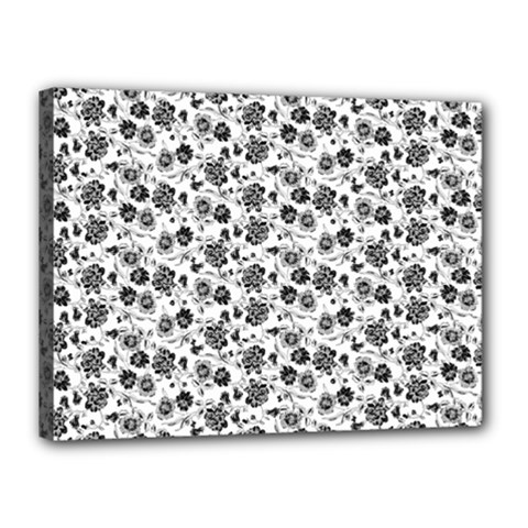 Roses pattern Canvas 16  x 12