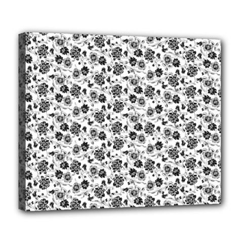 Roses pattern Deluxe Canvas 24  x 20