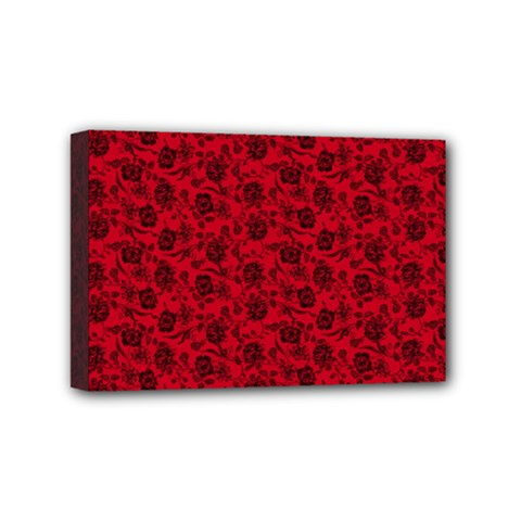 Roses pattern Mini Canvas 6  x 4