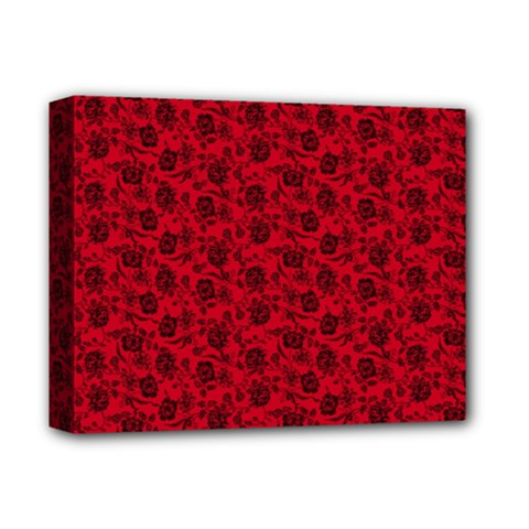 Roses pattern Deluxe Canvas 14  x 11