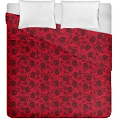 Roses pattern Duvet Cover Double Side (King Size)