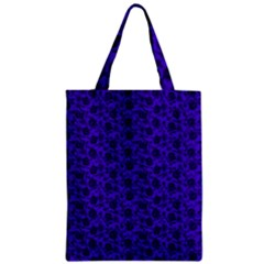 Roses pattern Zipper Classic Tote Bag