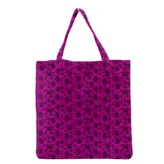 Roses pattern Grocery Tote Bag