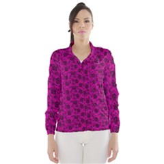 Roses pattern Wind Breaker (Women)