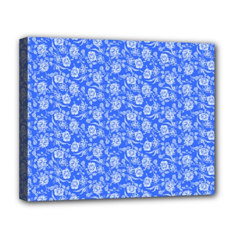 Roses pattern Deluxe Canvas 20  x 16