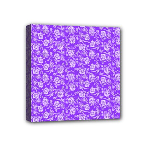 Roses pattern Mini Canvas 4  x 4