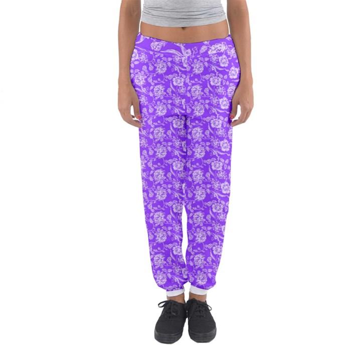 Roses pattern Women s Jogger Sweatpants