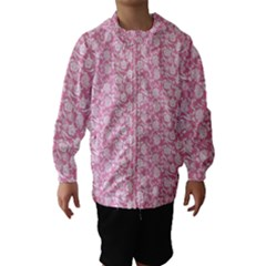 Roses pattern Hooded Wind Breaker (Kids)