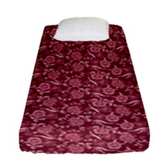 Roses pattern Fitted Sheet (Single Size)