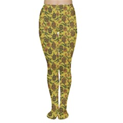 Roses pattern Women s Tights