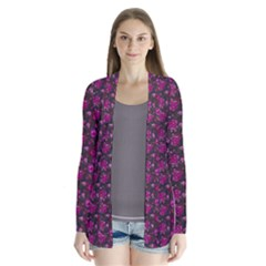 Roses pattern Cardigans