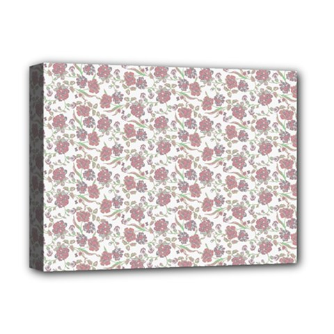 Roses pattern Deluxe Canvas 16  x 12