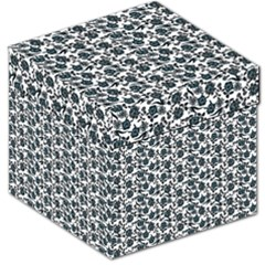 Roses pattern Storage Stool 12