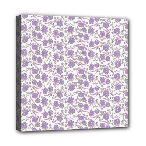 Roses pattern Mini Canvas 8  x 8