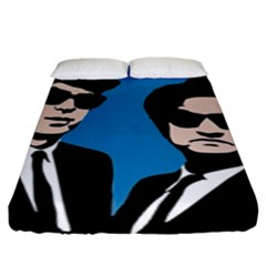 Blues Brothers  Fitted Sheet (King Size)