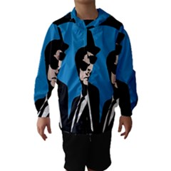 Blues Brothers  Hooded Wind Breaker (Kids)
