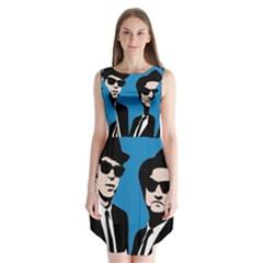 Blues Brothers  Sleeveless Chiffon Dress