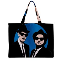 Blues Brothers  Medium Zipper Tote Bag