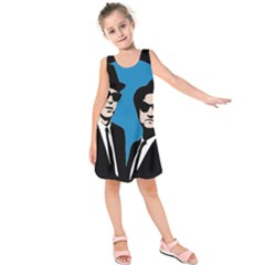 Blues Brothers  Kids  Sleeveless Dress