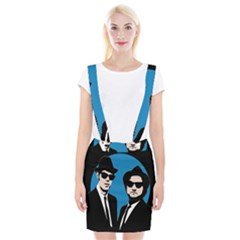 Blues Brothers  Braces Suspender Skirt