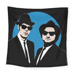 Blues Brothers  Square Tapestry (Large)