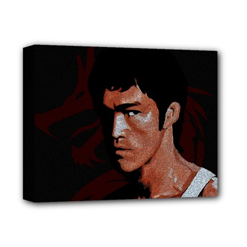 Bruce Lee Deluxe Canvas 14  x 11