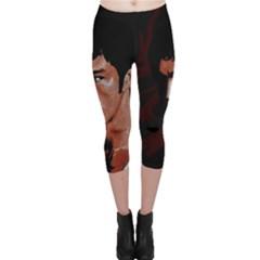 Bruce Lee Capri Leggings