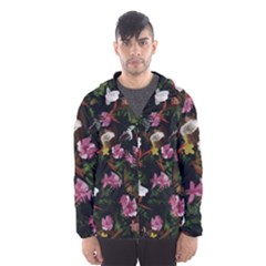 Tropical pattern Hooded Wind Breaker (Men)