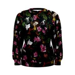 Tropical pattern Women s Sweatshirt