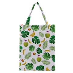 Tropical pattern Classic Tote Bag