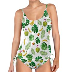 Tropical pattern Tankini
