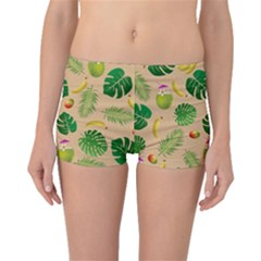 Tropical pattern Boyleg Bikini Bottoms