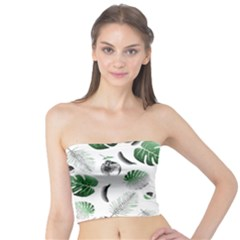 Tropical pattern Tube Top