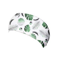 Tropical pattern Yoga Headband