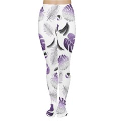 Tropical pattern Women s Tights