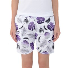 Tropical pattern Women s Basketball Shorts