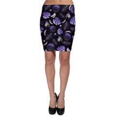Tropical pattern Bodycon Skirt