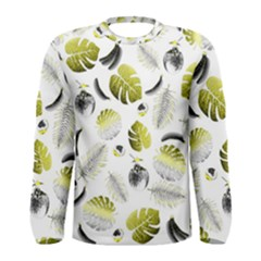 Tropical pattern Men s Long Sleeve Tee